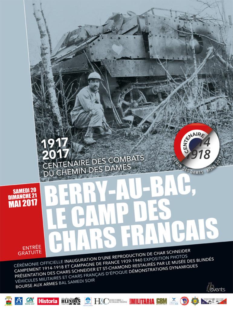 Berry-au-Bac, Le Camp des Chars Français