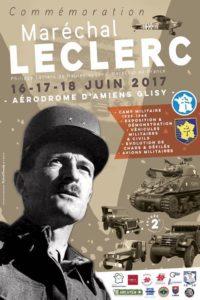 Commémoration Maréchal Leclerc Arcavem 2017